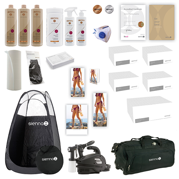 Sienna X Silver Professional Kit Package