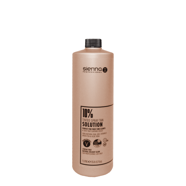 Sienna X 10% Spray Tan Solution 1 Litre