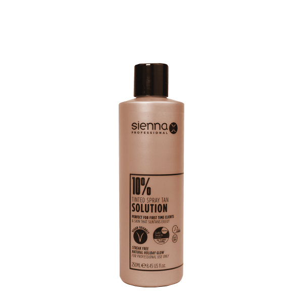 Sienna X 10% Spray Tan Solution 250ml