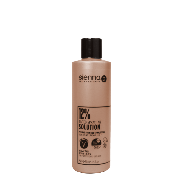 Sienna X 12% Spray Tan Solution 250ml