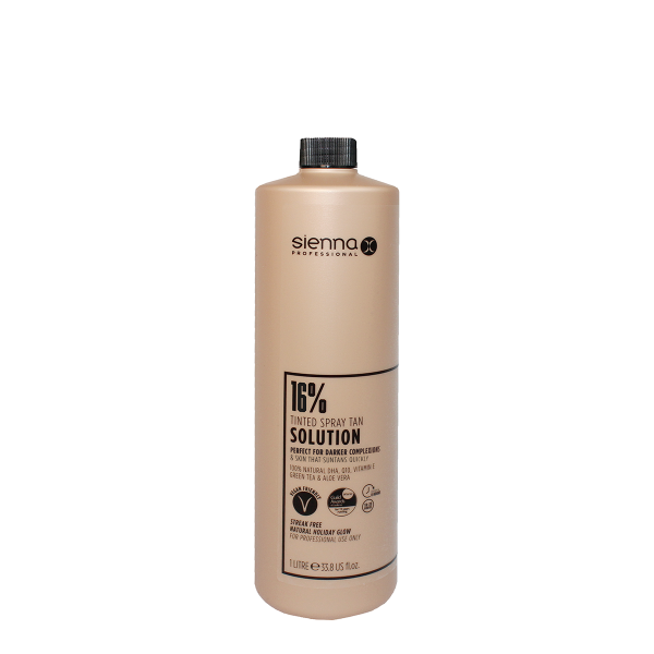 Sienna X 16% Spray Tan Solution 1 Litre