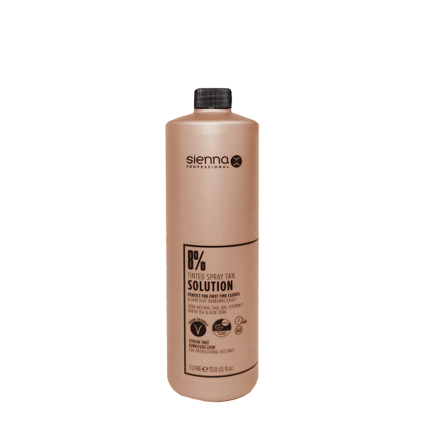 Sienna X 8% Spray Tan Solution 1 Litre