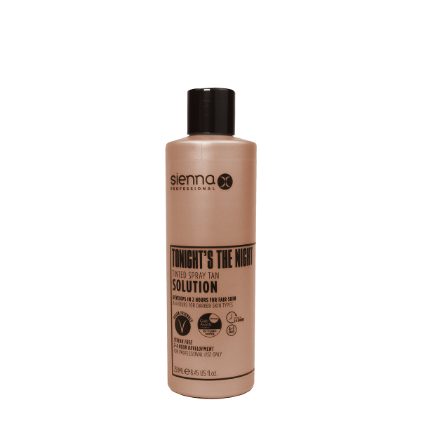 Sienna X Tonight's The Night Rapid Tan Spray Tan Solution 250ml