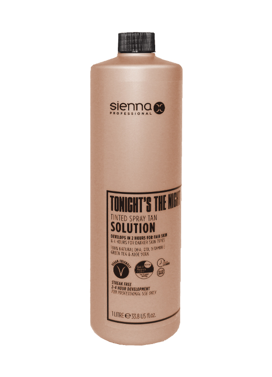 Sienna X 1 Litre Tonight's The Night Tan Solution
