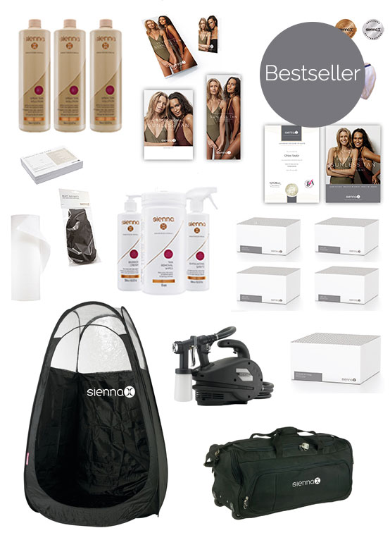 Silver Spray Tan Kit