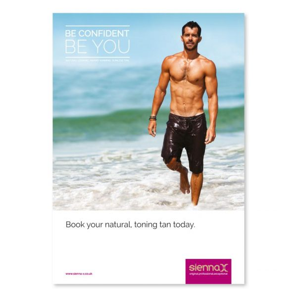 Summer Male A5 Business Flyers x 25