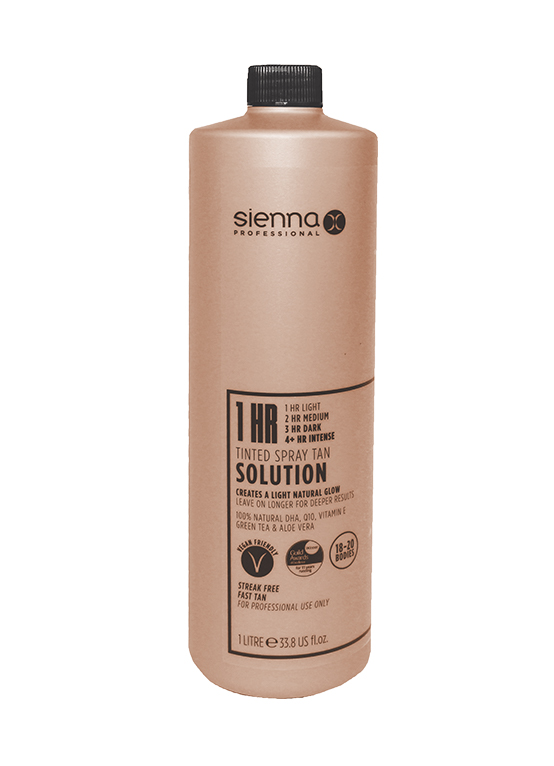 Sienna X 1 Litre 1 Hour Tan Solution