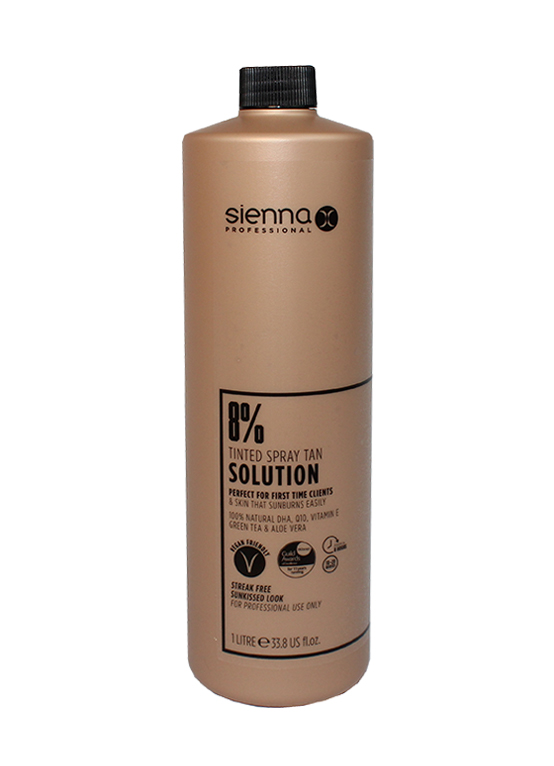 Sienna X 1 Litre 8% Tan Solution