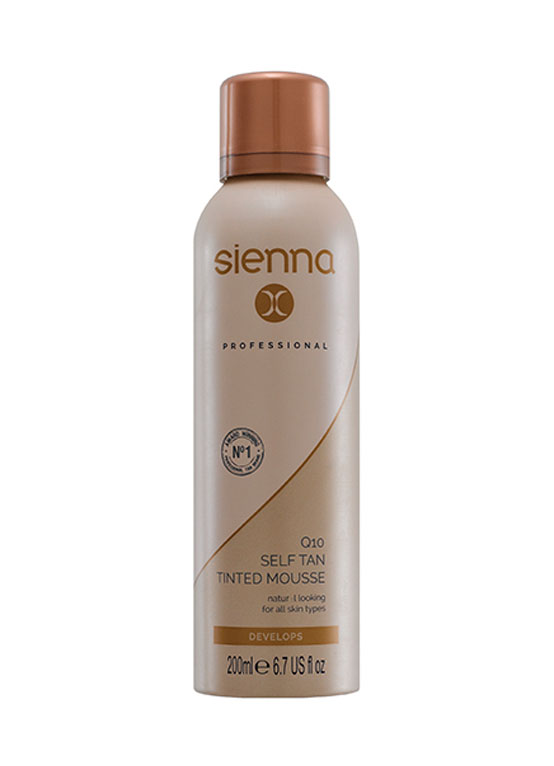 Q10 Self Tan Tinted Mousse