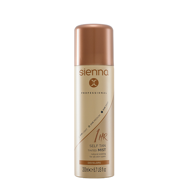 1 Hour Self Tan Tinted Mist 200ml