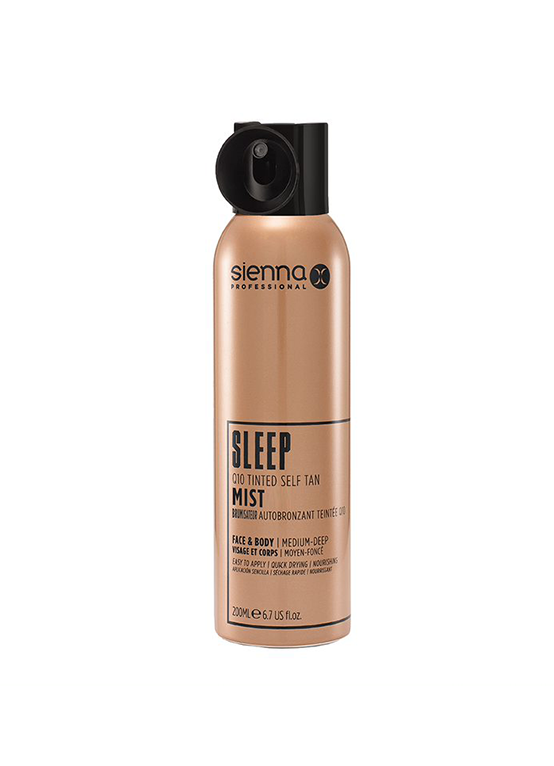 SLEEP Q10 Tinted Self Tan Mist (200ml)