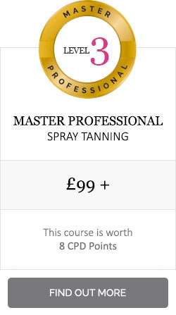 Level 3 spray tan training