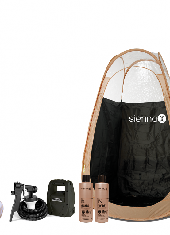Sienna X At Home Spray Tan Kit Package