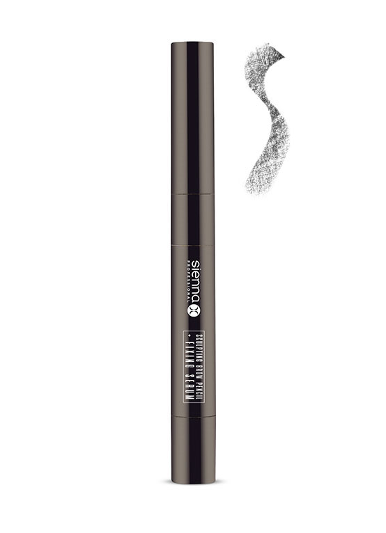 warm brunette eyebrow pencil