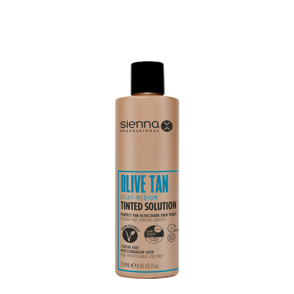 Sienna X Light-Medium Olive Spray Tan Solution 250ml