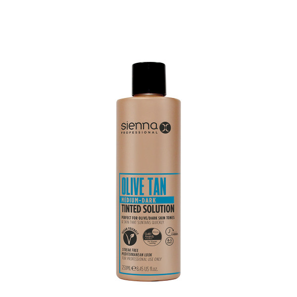 Sienna X Medium-Dark Olive Spray Tan Solution 250ml