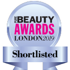 Shortlisted In The Beauty Awards London 2019